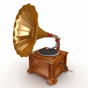 Grammofoonplaat op CD