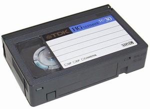 (S)VHS-C naar DVD