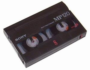 Video8 naar digitaal bestand