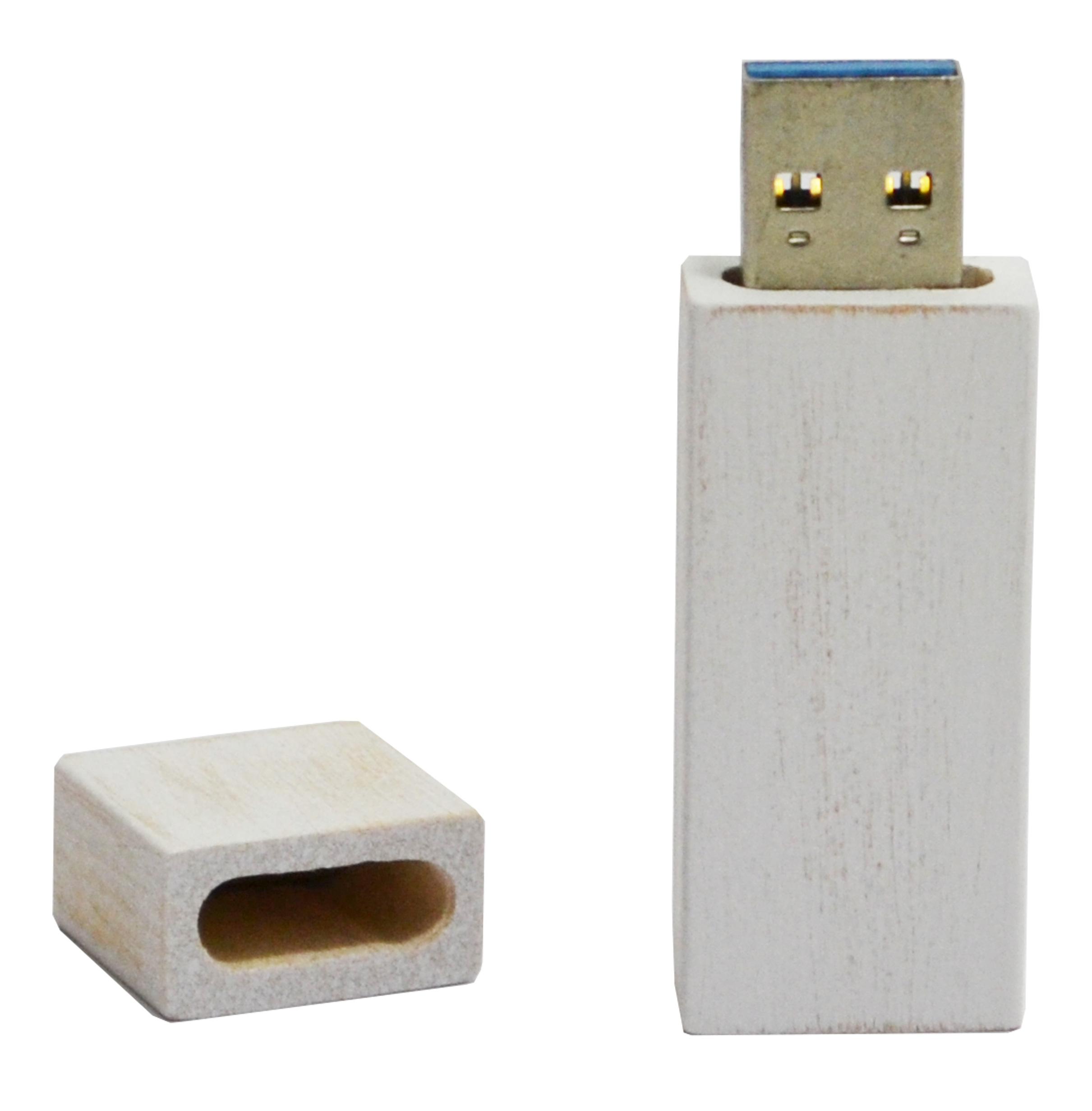 Houten USB geheugenstick