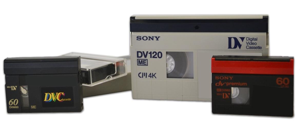 Mini-dv, DVCam en HDV naar digitaal bestand