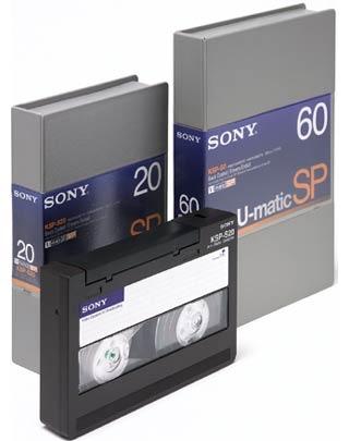 U-Matic naar DVD