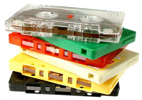 muziek tape digitaal
