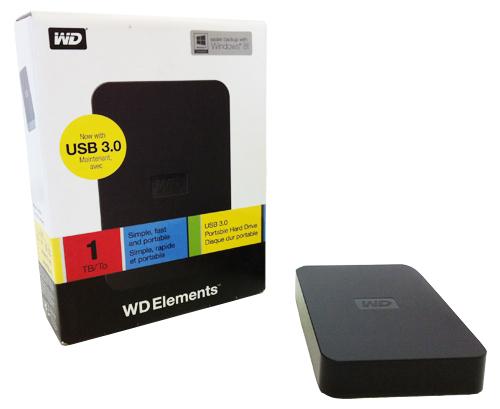 Digitaliseer uw herinneringen naar een portable harde schijf van Western Digital